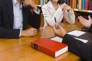 lawyer paperwork
